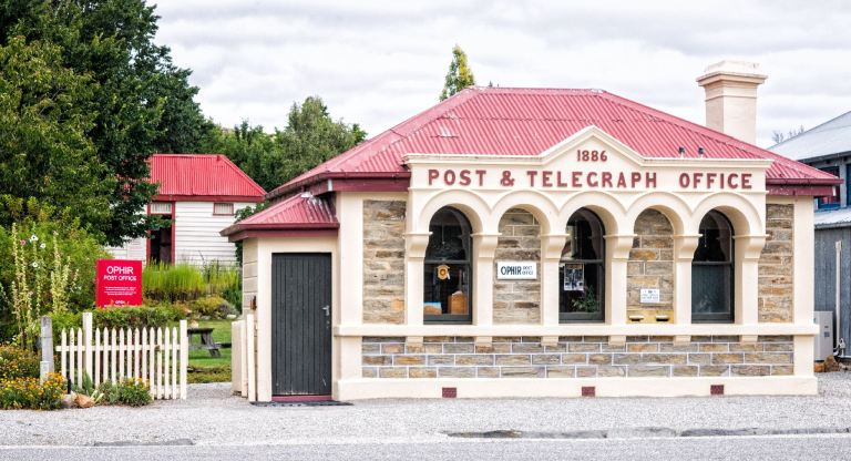 Ophir Post Office, NZ Heritage Site, by Barry Teutenberg February 2021