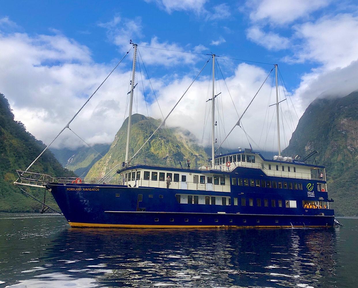 Fiordland Navigator 23rd March 2021