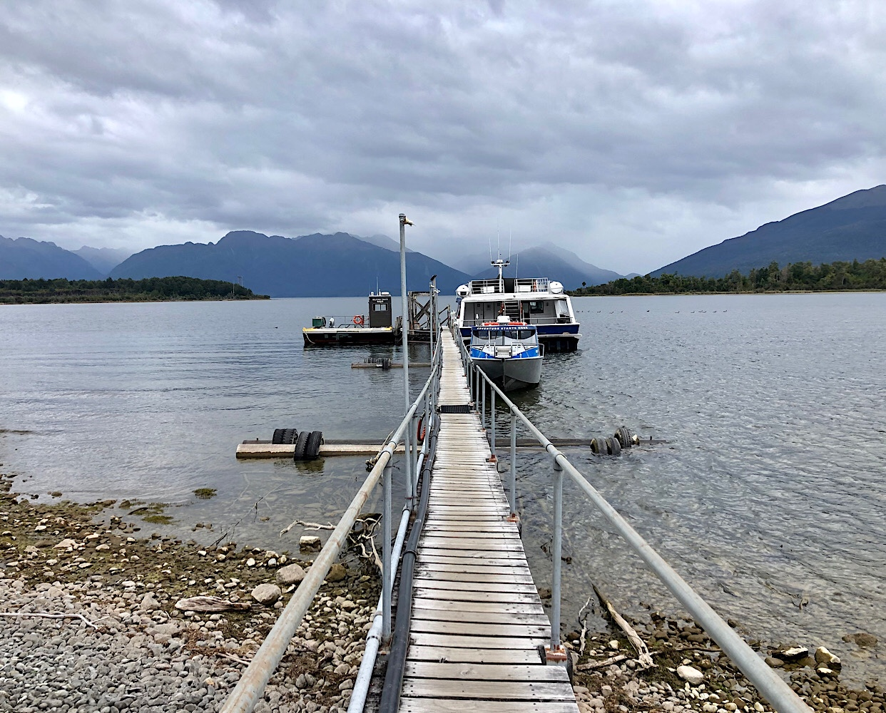 Water taxi to Milford Track